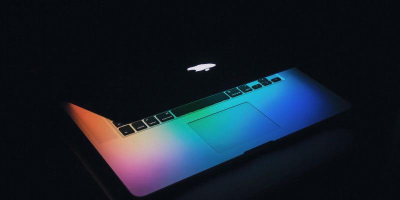 mac book 光